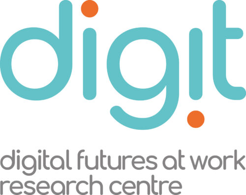 digit (the Digital Futures at Work Research Centre) logo